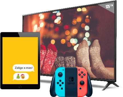 iPad, LG TV en Nintendo Switch