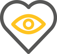 eye love icon