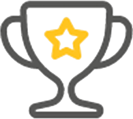 icon trophy star