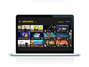 Telenet TV-app op laptop