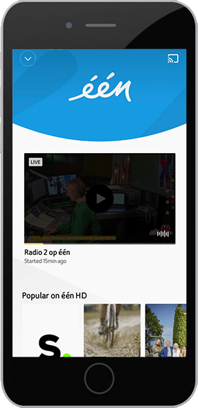 Screen YUGO TV-app